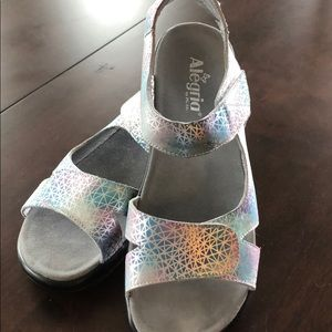 Alegria sandals, size 41 like new condition!